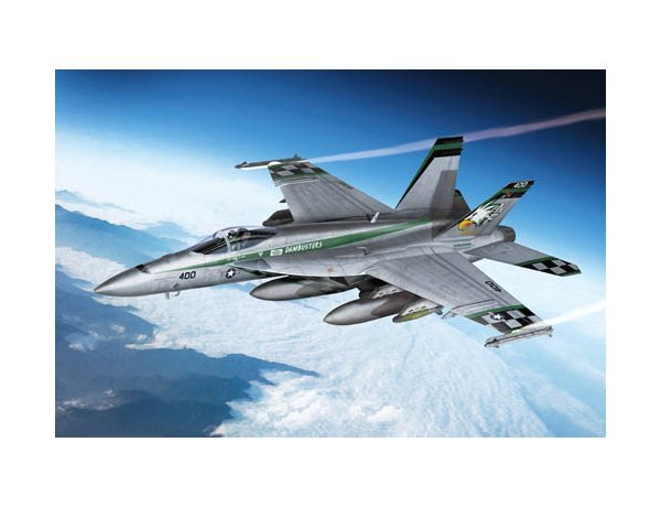 "F//A-18E SUPER HORNET /""VFA-195 CHIPPY HO/""  ACADEMY  1//72 PLASTIC KIT"
