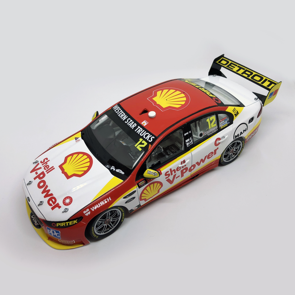 Authentic Collectables 1/18 DJR Team Penske Shell V-Power Ford FGX Falcon -  2016 Supercheap Auto Bathurst 1000 ACD18F16B