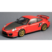 Minichamps 1/18 Porsche 911 GT2 RS Red with Gold