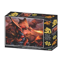 Prime 3D 500pc Age Of Dragons - Fire Dragon