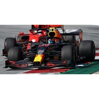 Minichamps 1/18 Aston Martin Red Bull Racing RB16 - Alexander Albon - 4th Place Styrian GP 2020 Diecast Car