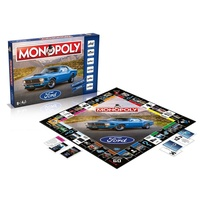 Monopoly Ford Board Game
