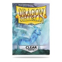 Sleeves - Dragon Shield - Box 100 - Clear MATTE