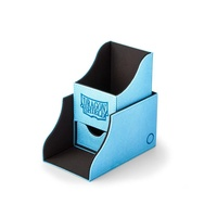 Dragon Shield Nest Deck Box Plus Light Blue/Black