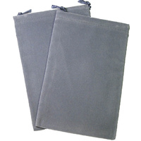 CHX 2371 Suedecloth Bag (S)- Grey