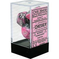 CHX 26430 Gemini Black-Pink With White 7-Die Set