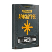 Warhammer 40k Apocalypse Datasheets: Chaos Space Marines