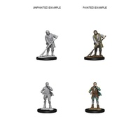 Pathfinder Deep Cuts Unpainted Miniatures Towns People (Farmer/Aristocrat)