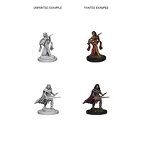 Pathfinder Deep Cuts Unpainted Miniatures Human Female Bard