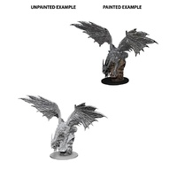 Pathfinder Deep Cuts Unpainted Miniatures Silver Dragon