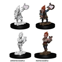 Pathfinder Deep Cuts Unpainted Miniatures Gnome Male Bard
