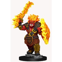 D&D Wizkids Wardlings Painted Miniatures Fire Orc and Fire Centipede