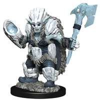 D&D Wizkids Wardlings Painted Miniatures Ice Orc and Ice Worm