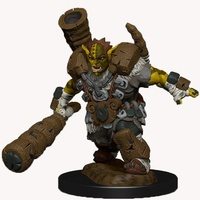 D&D Wizkids Wardlings Painted Miniatures Mud Orc and Mud Puppy