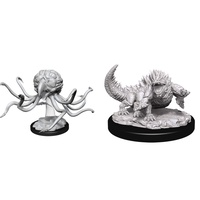 D&D Nolzurs Marvelous Unpainted Miniatures Grell and Basilisk