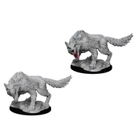 D&D Nolzurs Marvelous Unpainted Miniatures Winter Wolf