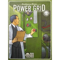 Power Grid Strategy Game
