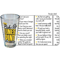 iPartyHard Pick Up Lines Pint