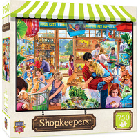 Masterpieces 750pcs Shopkeepers Lucy's First Pet Jigsaw Puzzle