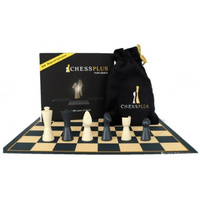 Chessplus Pieces in Box (with Velvet Pouch & Board)