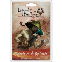 Legend of the Five Rings LCG: Disciples of the Void Clan Pack