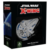 Star Wars X-Wing 2nd Edition Landos Millenium Falcon