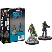 Marvel Crisis Protocol Miniatures Game Vision and Winter Soldier Expansion