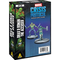 Marvel Crisis Protocol Miniatures Game Drax and Ronan the Accuser Character Pack