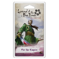 Legend of the Five Rings LCG: For the Empire Inheritance Cycle Dynasty Pack
