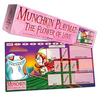 Munchkin Playmat - The Flower of Love (Katie Cook)