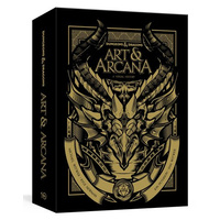 Dungeons & Dragons Art and Arcana Special Edition (Boxed Book and Ephemera Set)