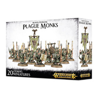 Warhammer: Age of Sigmar Skaven Pestilens Plague Monks