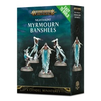 Warhammer: Age of Sigmar Easy to Build: Nighthaunt Myrmourn Banshees