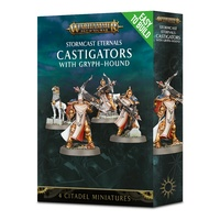 Warhammer: Age of Sigmar Easy to Build: Castigators with Gryph-Hound