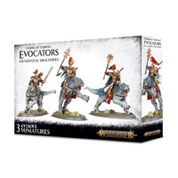 Warhammer: Age of Sigmar Stormcast Evocators on Celestial Dracolines