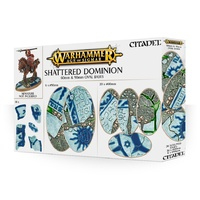 Warhammer: Age of Sigmar Shattered Dominion: 60 & 90mm Oval Bases