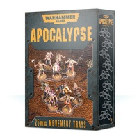 Warhammer 40k Apocalypse Movement Trays (25mm)