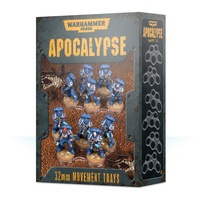 Warhammer 40k Apocalypse Movement Trays (32mm)