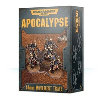 Warhammer 40k Apocalypse Movement Trays (40mm)