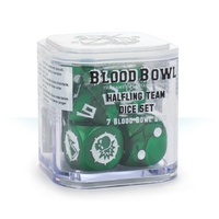Bloodbowl: Halfling Dice Set