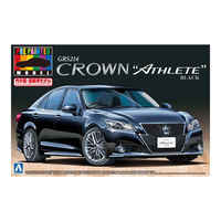 Aoshima 1/24 GRS214 Crown Athlete G12 (Black) 000851