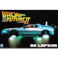 Aoshima 1/24 BTTF Deloreon from Part 2 001186 Plastic Model Kit