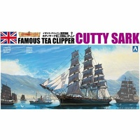 Aoshima 1/350 Cutty Sark A004110 Plastic Model Kit