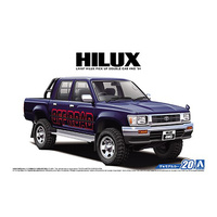 Aoshima 1/24 Toyota LN107 Hilux Pick Up Double C