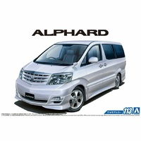 Aoshima 1/24 Toyota NH10W Alphard G/V MS/AS 05