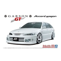 Aoshima 1/24 Garson Geraid GT CF6 Accord Wagon '97 (Honda) Plastic Model Kit