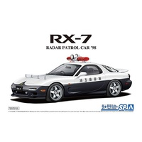 Aoshima 1/24 Mazda FD3S RX-7 Radar Patrol CAR 98 Plastic Model Kit