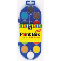 Educational Colours 12 Disc Paint Box A4100C