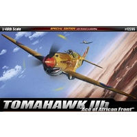Academy 1/48 Tomahawk IIB Ace of African Front Limited Edition Reproduction w/Australian Decals