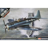 "Academy 1/48 USN SBD-5 ""Battle of the Philippine Sea"" Plastic Model Kit 12329"